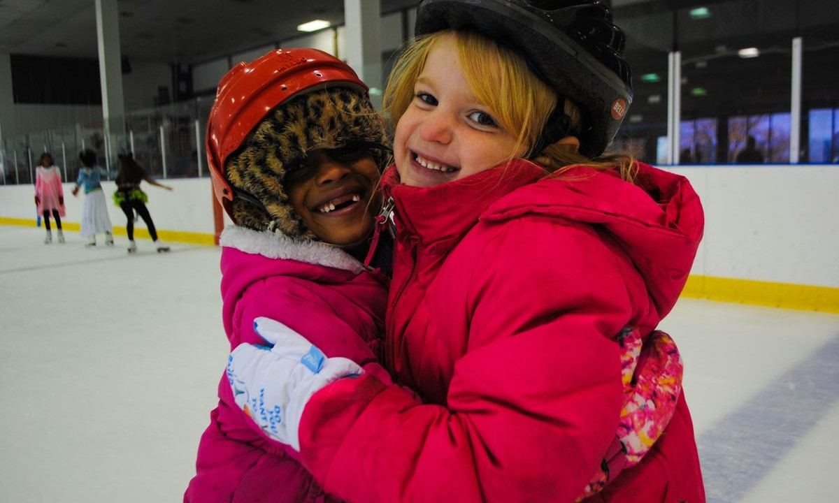 Kids On Ice students at FDIA