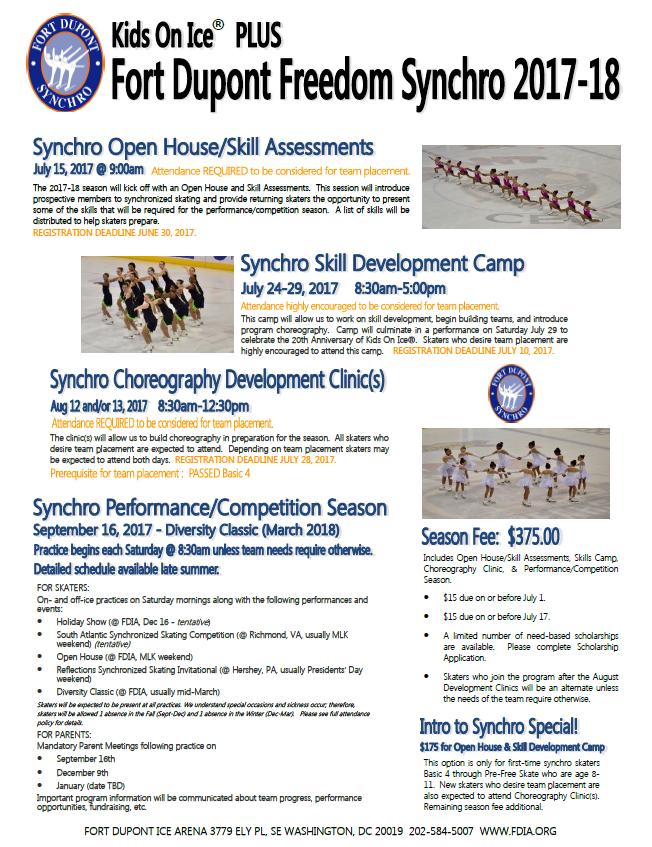 FDIA Synchro Camp