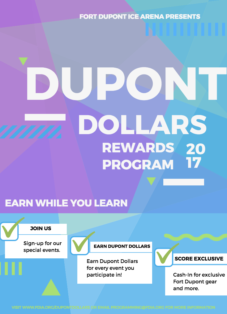 Fort Dupont Ice Arena - Dupont Dollars for Kids On Ice